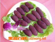果蔬百科紫红薯